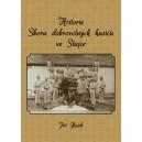 Historie Sboru dobrovolných hasičů ve Stajce - přední obálka